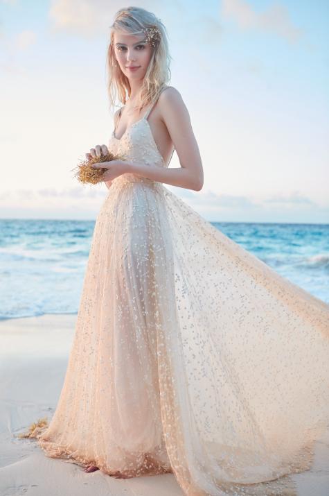 bermuda beach wedding dress