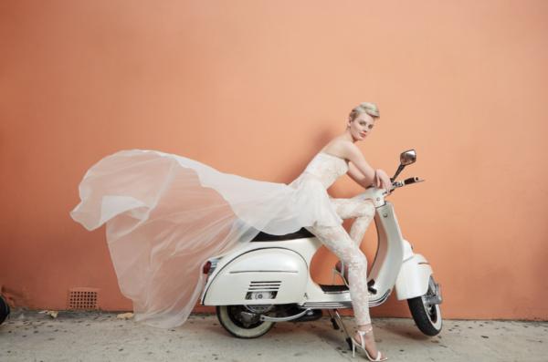 Bridal fashion in Bermuda