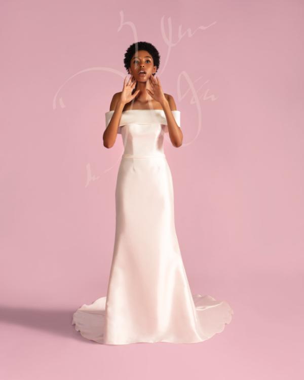 Dress: David's Bridal Collection