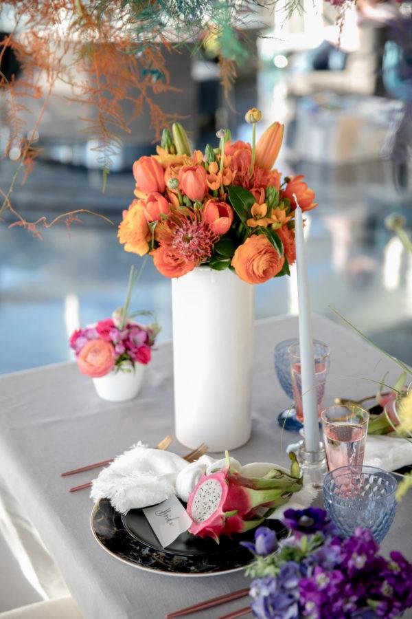 Colourful wedding inspo