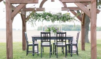 Lilac tablescape 1