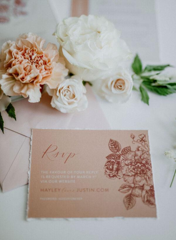 Neutral Wedding Invitations